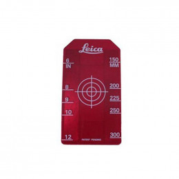 Cible rouge pour laser 6700 - PIPER  ( petite )